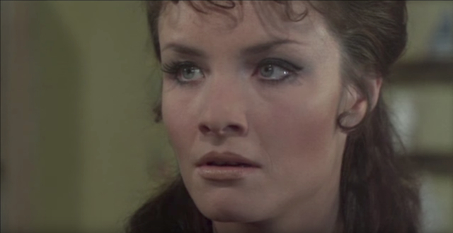 Kate O'Mara as The Governess in The Vampire Lovers