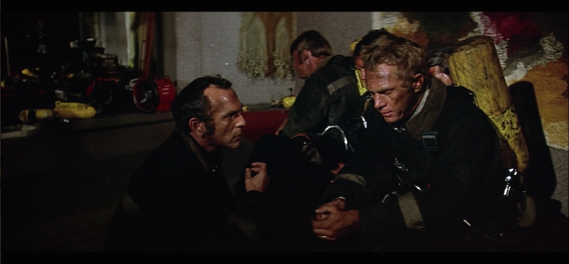Steve McQueen in The Towering Inferno