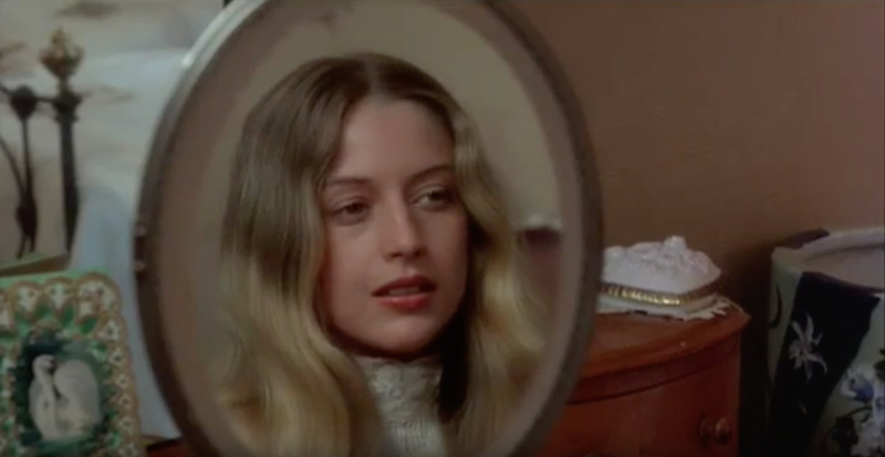 Picnic at Hanging Rock mirror shot