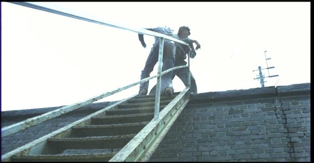 Yomigaeru: action on the stairs 1