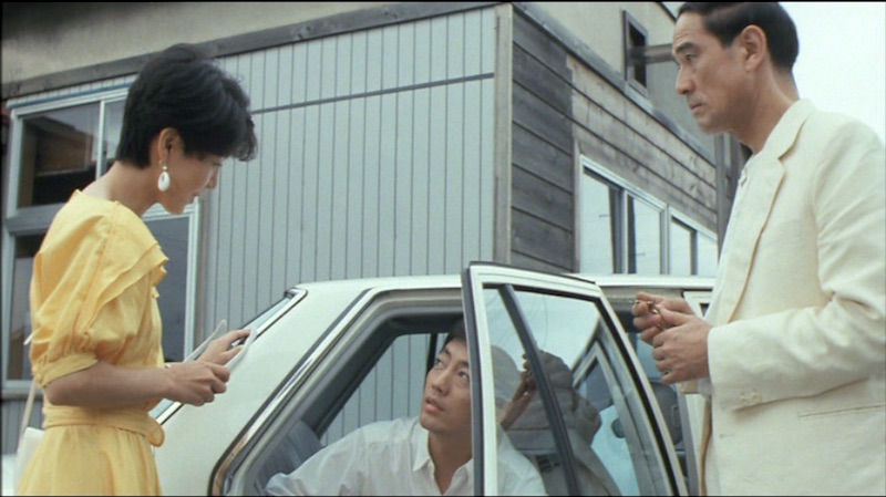 The three main characters in Tokimeki ni shisu